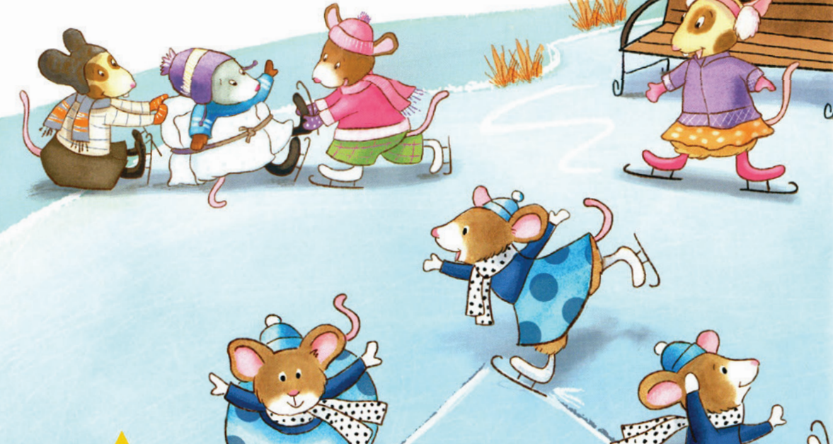 Cover image of Mice skating on ice
