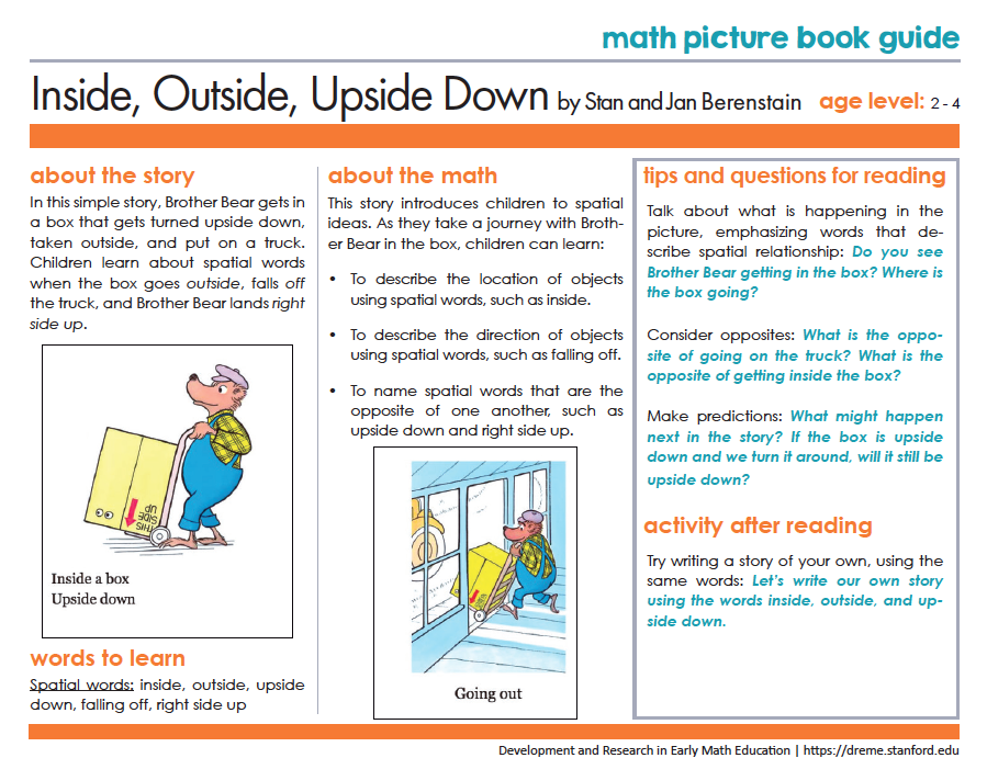 5 great picture books to learn about shape space development and