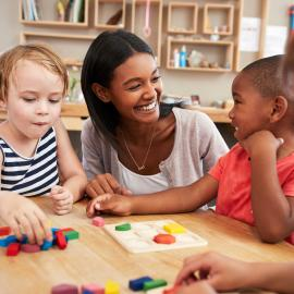 NAEYC playful math instruction webinar
