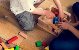 Playful early math with blocks